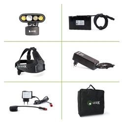 Ledx Mamba 4 000 X-Pand Kit, Backup Battery And Automatic Charger