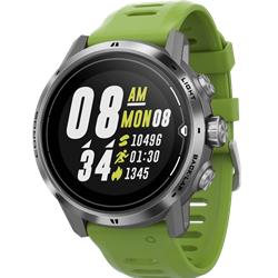 Coros Apex Pro Watch Silver/Green