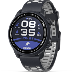 Coros Pace 2 Dark Navy With Silicone Band